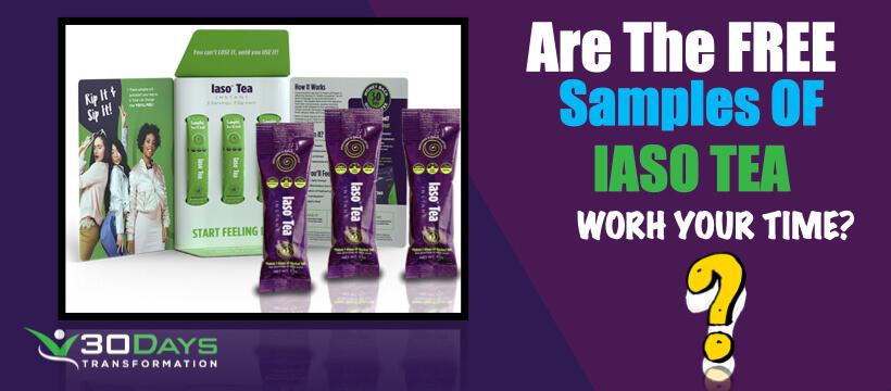 Free Iaso Tea Samples