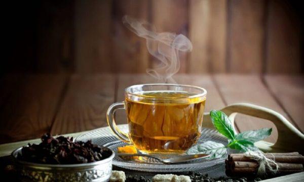 Drinking Iaso Tea